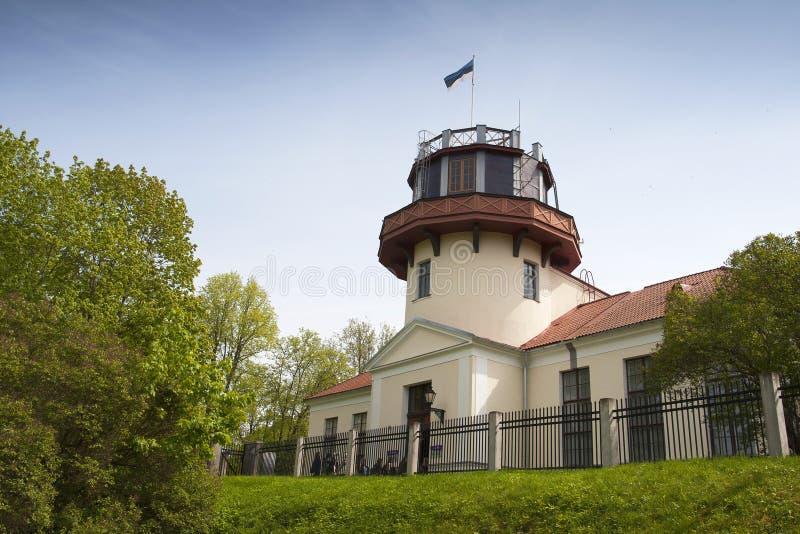Osservatorio di Tartu immagini stock