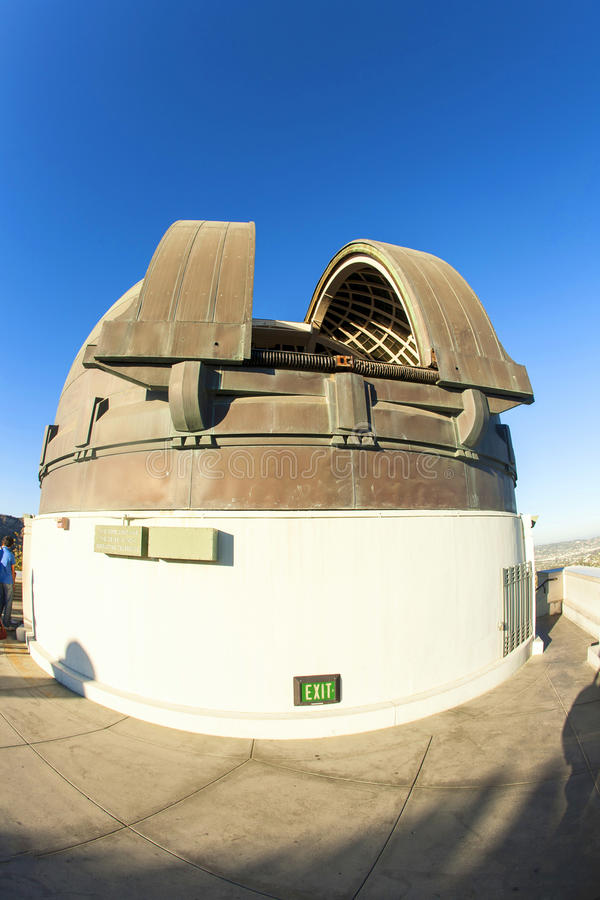 Osservatorio famoso di Griffith a Los Angeles fotografia stock libera da diritti