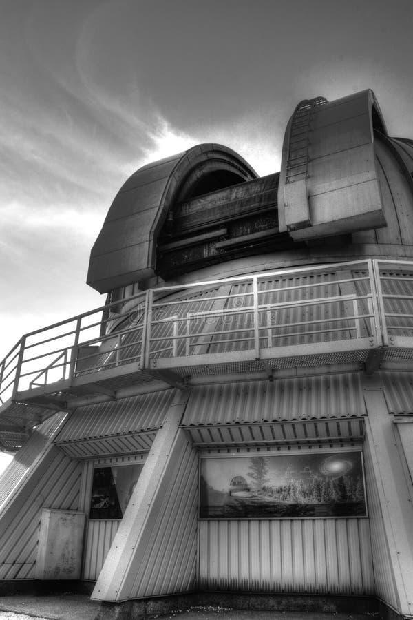 Osservatorio nel mont megantic immagini stock