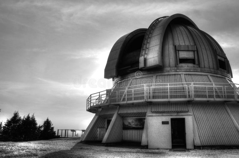 Osservatorio nel mont megantic immagine stock libera da diritti