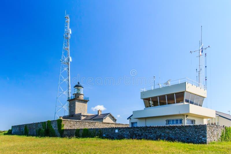 Osservazioni della stazione metereologica fotografie stock