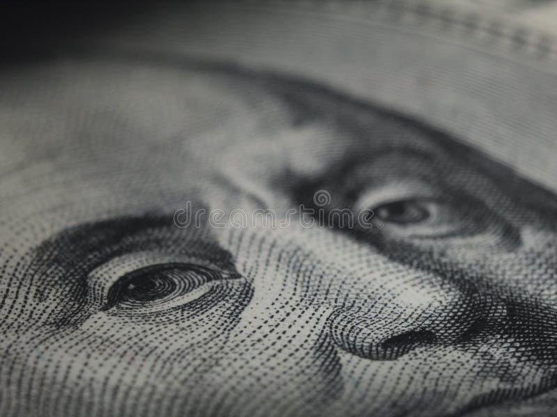 Osservi di soldi fotografia stock