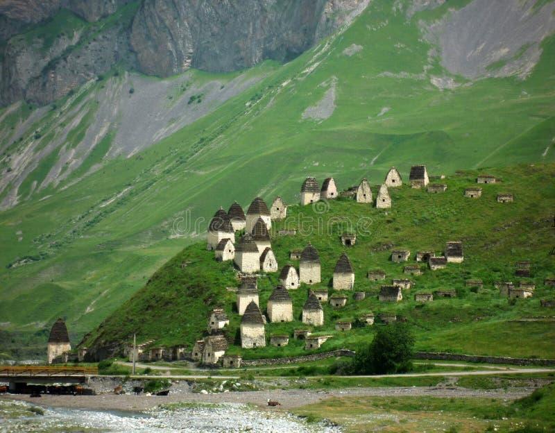 Ossetia antigo colorido. foto de stock royalty free