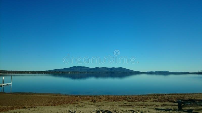 Ossipee湖 库存照片