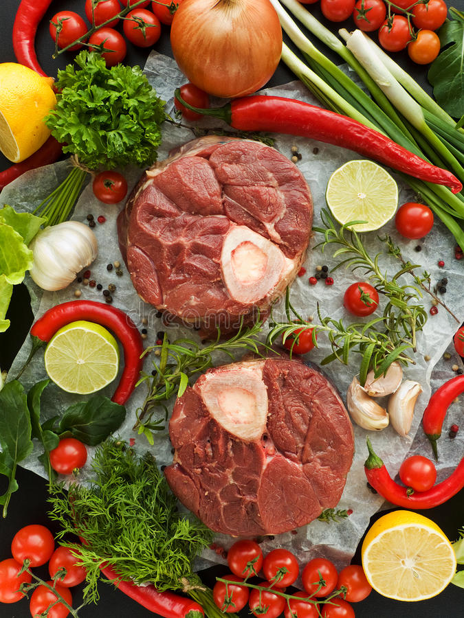 Download Osso buco stock photo. Image of meat, onion, lime, chili - 23642610