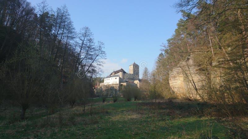 osso di castello Bohemia Czechia settentrionale fotografie stock