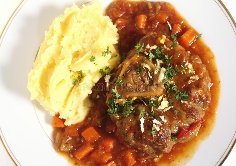 Ossobuco from above