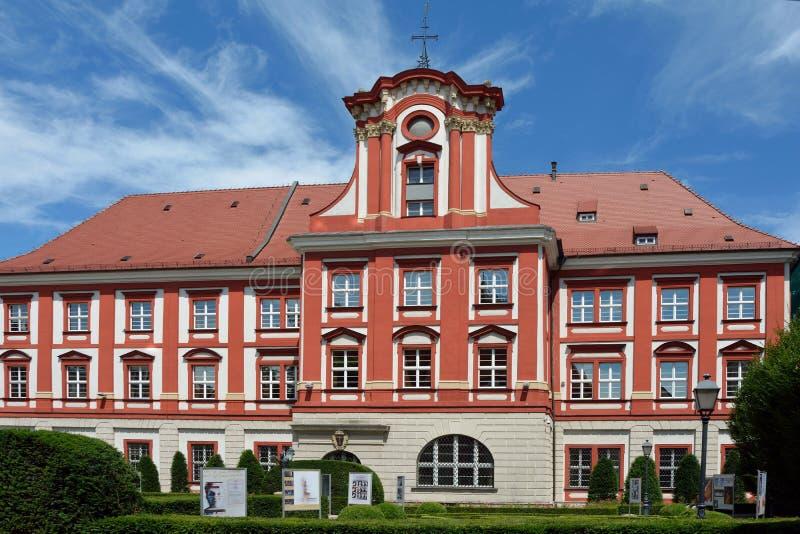 Ossolineum在弗罗茨瓦夫-波兰 免版税库存图片
