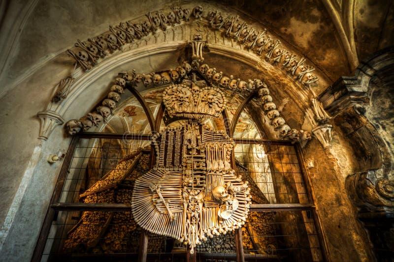 Ossuary около Kutna Hora стоковые фотографии rf