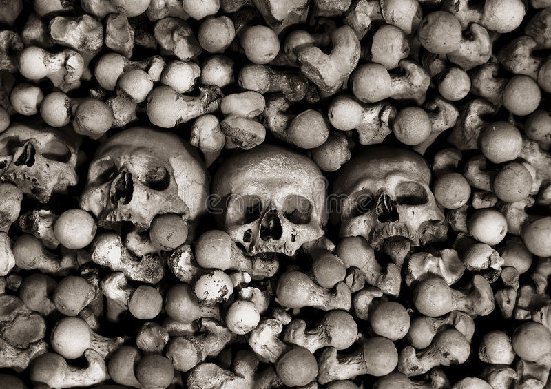 The Ossuary royalty free stock images