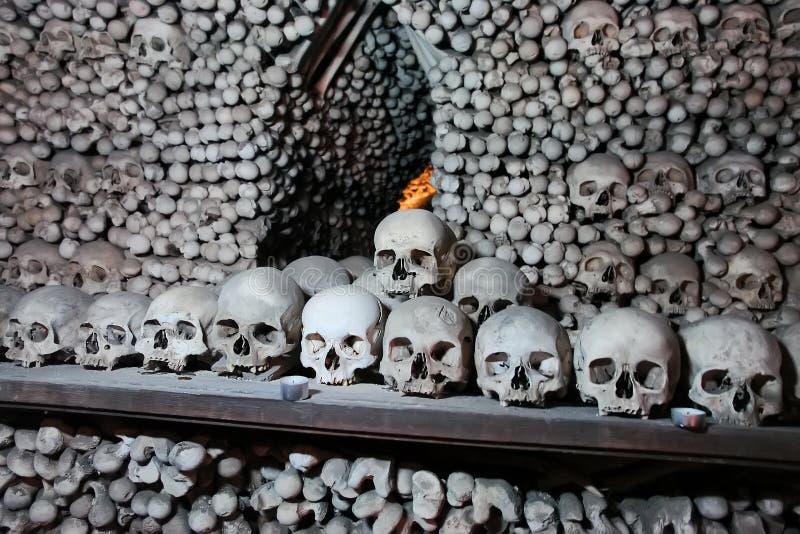 Ossuary Sedlec стоковая фотография rf
