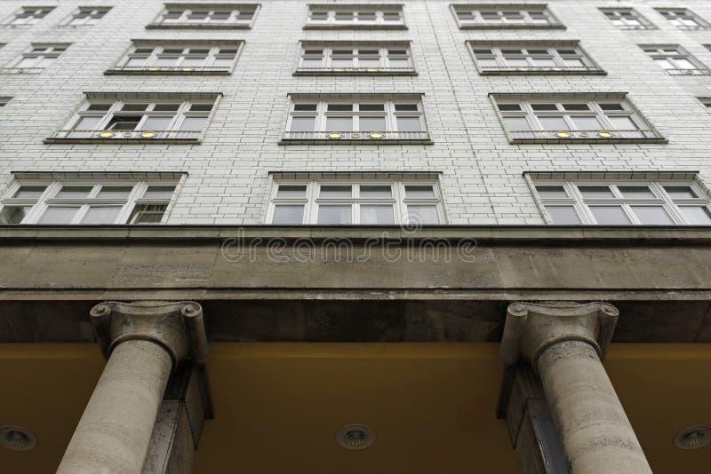 Ost-Berlin-Architektur, 50s stockbilder