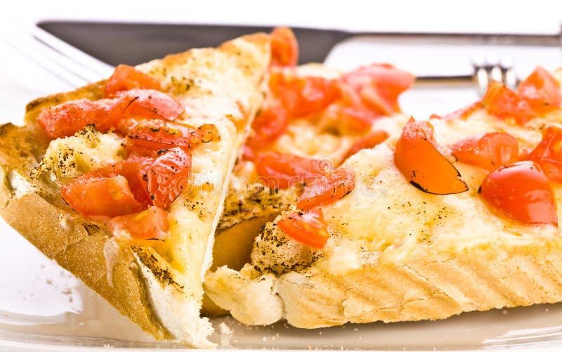 ost grillad rostat bröd fotografering för bildbyråer