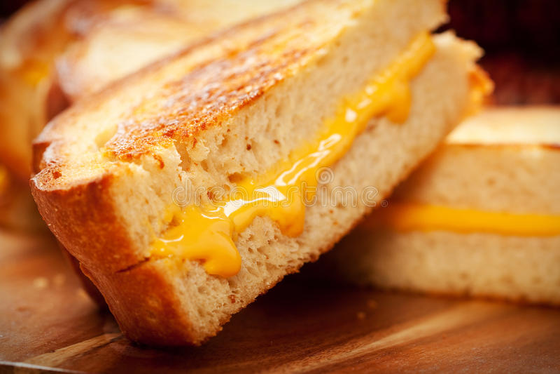 ost grillad smörgås