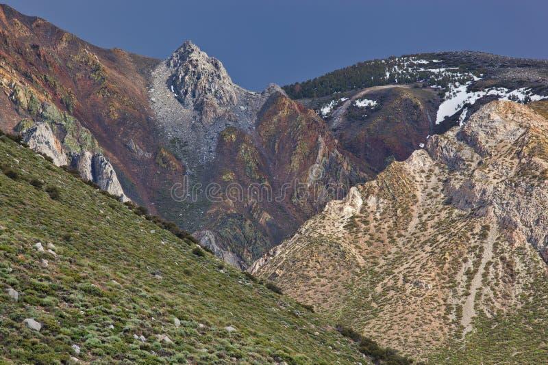Ost-Sierra Nevada stockbilder