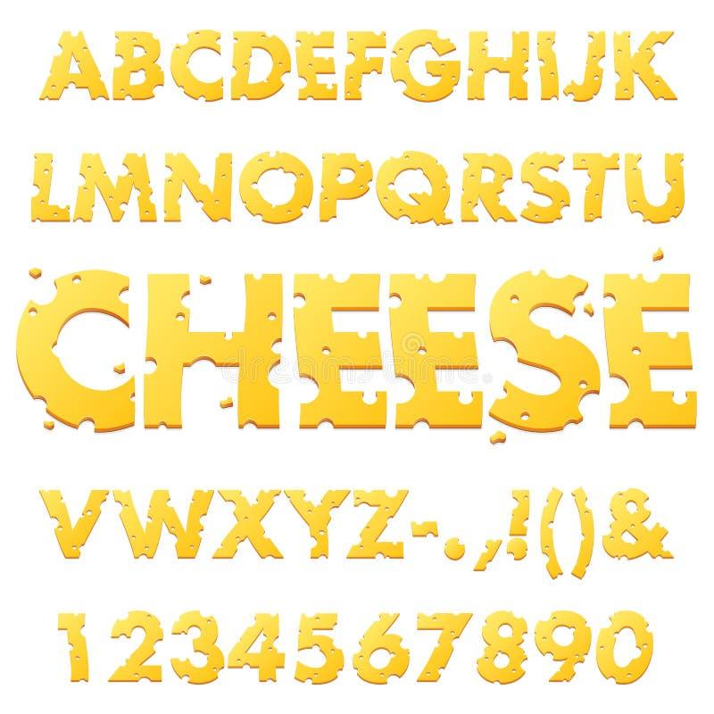 Ostalfabetbokstäver stock illustrationer