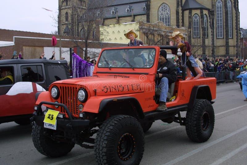 Ostatki Soulard St Louis 2019 zdjęcia stock