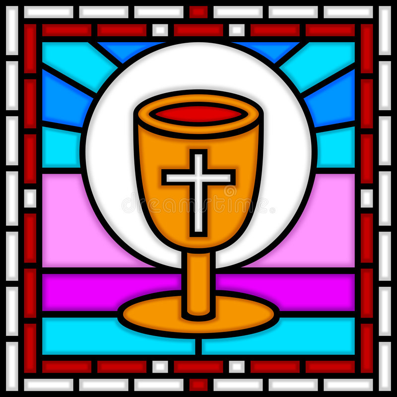 ostatni Easter kolacja ilustracja wektor