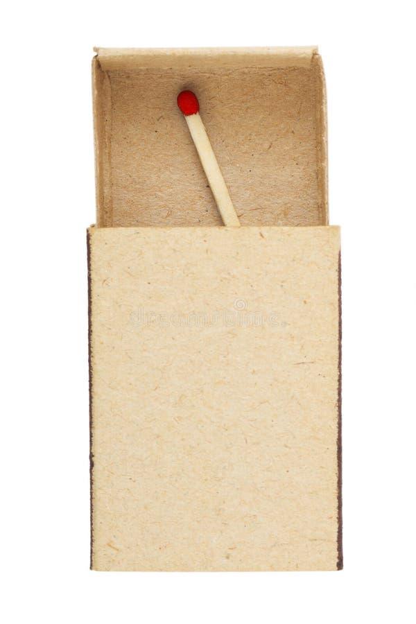 ostatni zapałczany matchbox zdjęcia royalty free