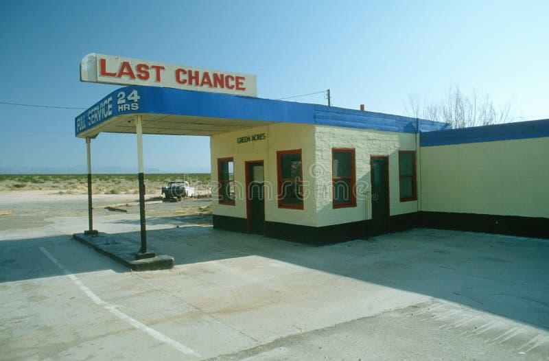 Ostatniej Szansy Gazu Stacja zdjęcie stock