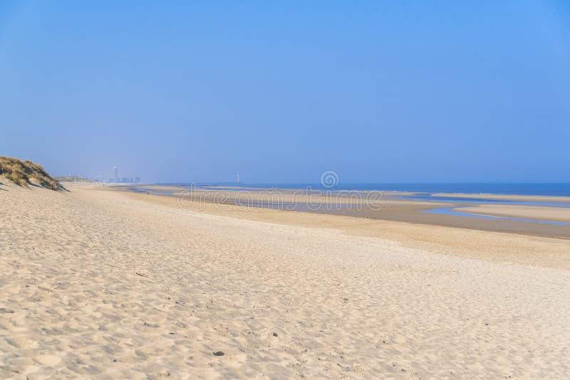 Ostende nel Belgio, spiaggia immagini stock libere da diritti