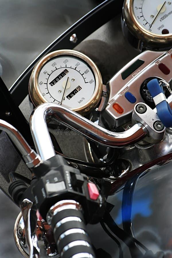 Ostenta a motocicleta foto de stock royalty free