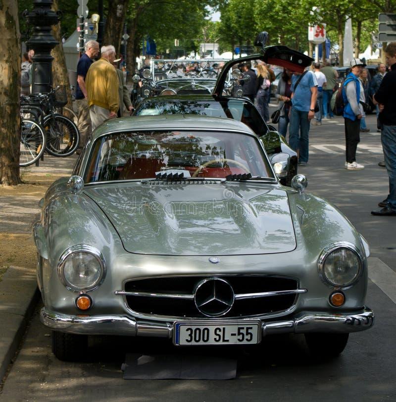 Ostenta o cupé Mercedes-Benz W198 (300SL) imagem de stock