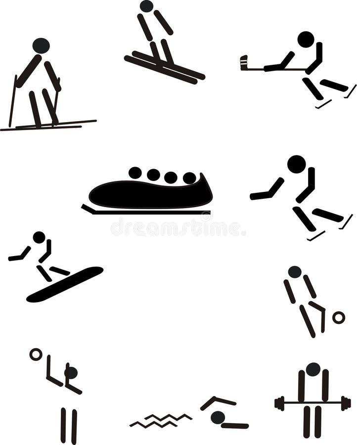 Ostenta o pictograma ilustração royalty free