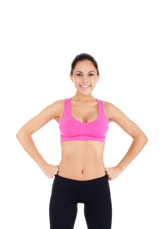 Download Ostente A Mulher Da Aptidão Foto de Stock - Imagem de calories, fêmea: 29849710