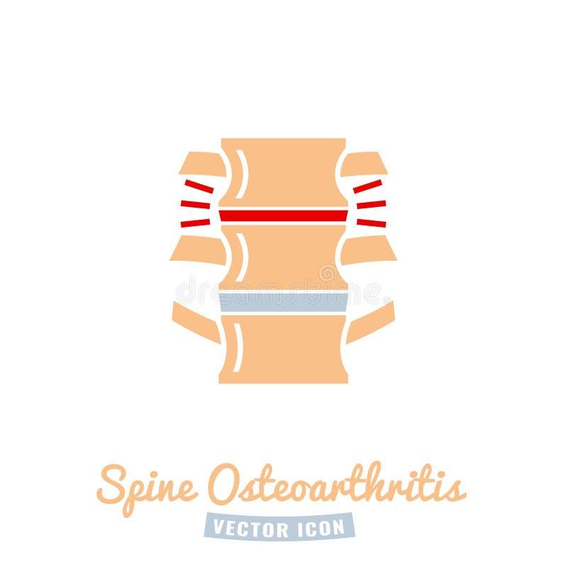 Osteoarthritis ikona dla medycznego projekta ilustracji