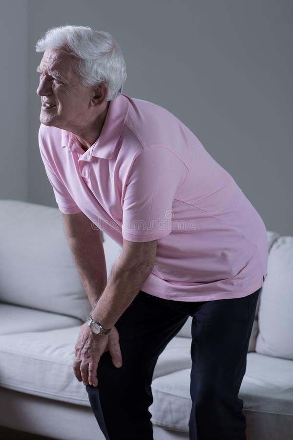 Osteoartritis de la rodilla imágenes de archivo libres de regalías
