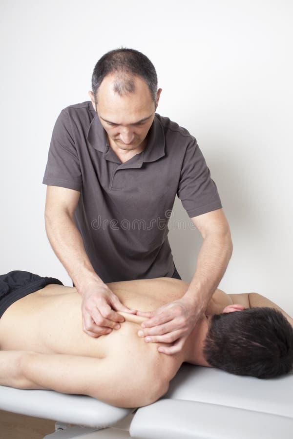 Osteopathic traktowanie obrazy royalty free