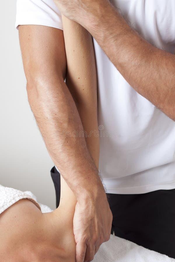 Osteopathie stock foto