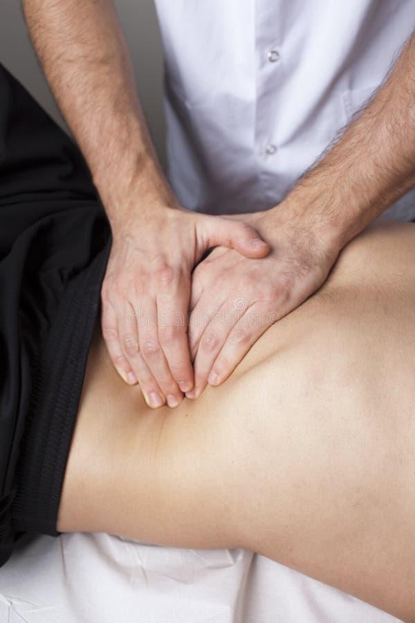 Osteopathy imagens de stock royalty free