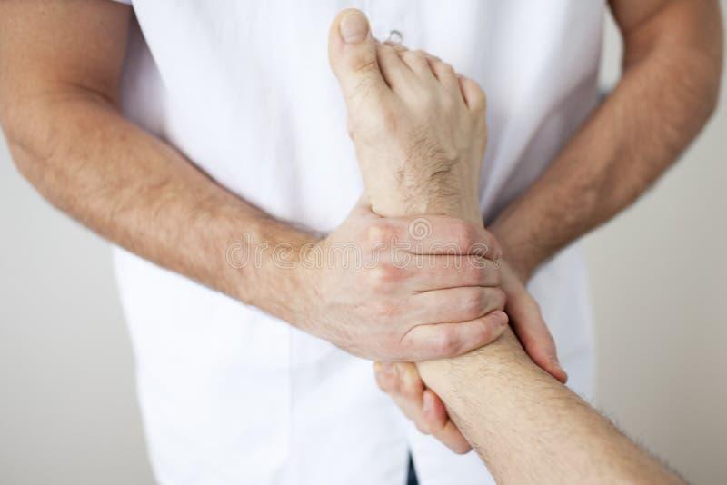Osteopathy stock photo