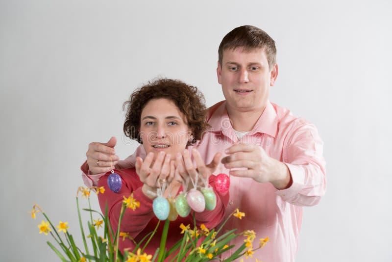 Ostereier lizenzfreie stockfotos