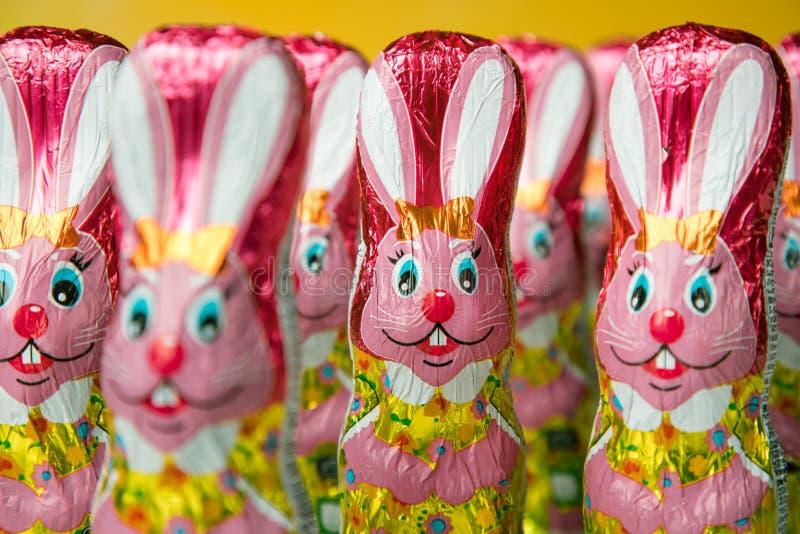 Osterhase oder Kaninchen stockbild