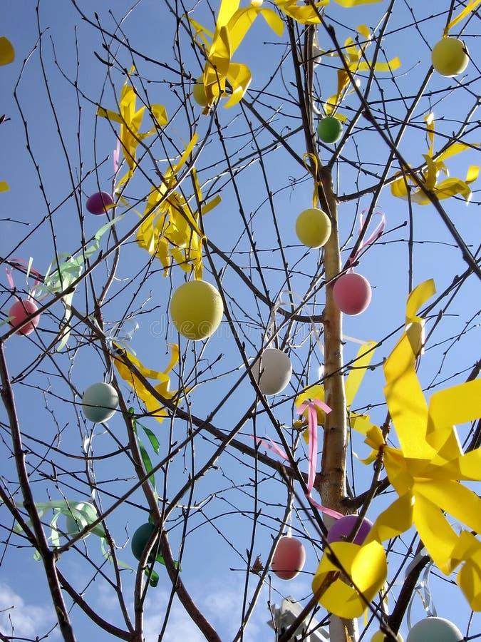 Ostern-Baum lizenzfreie stockbilder