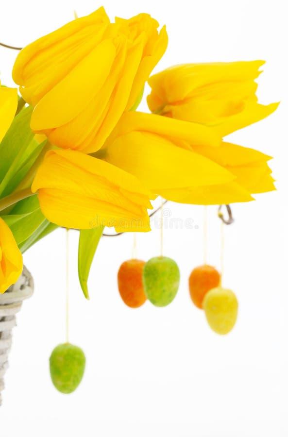 Ostern-Blumenstrauß stockfotografie
