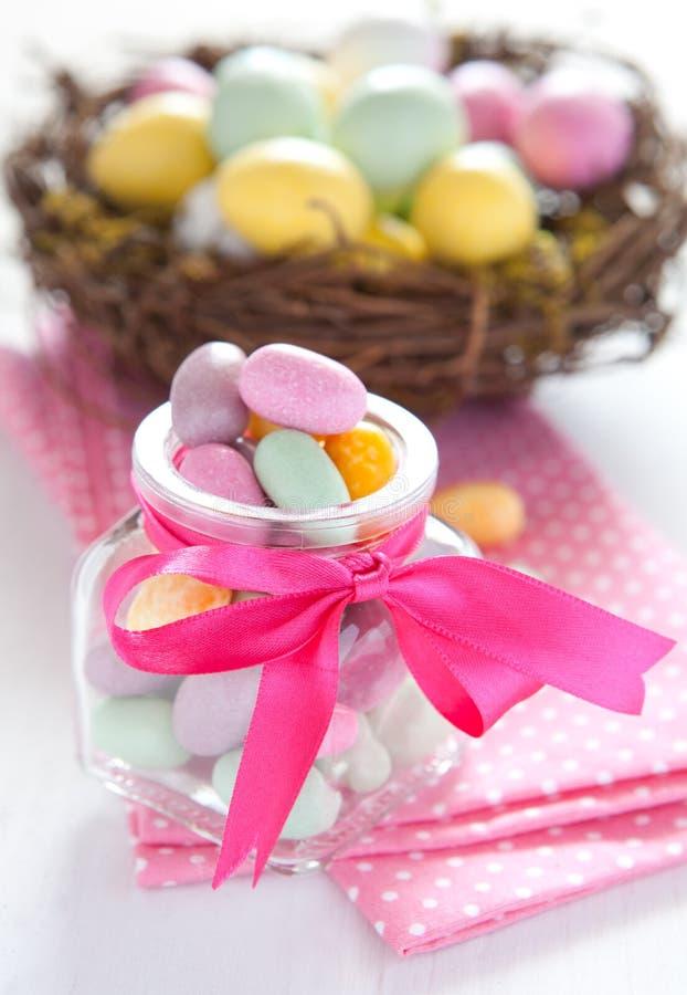 Ostern-Bonbons stockfotografie