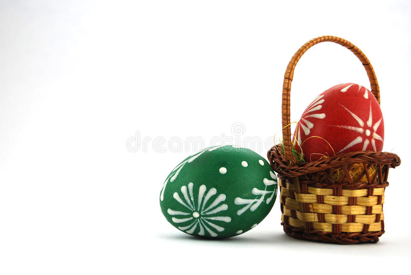 Ostern-Dekoration lizenzfreie stockfotos