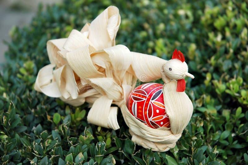 Ostern-Dekorationen stockfoto