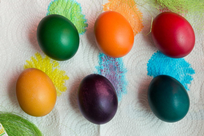 Ostern-Feiertagseier stockfoto