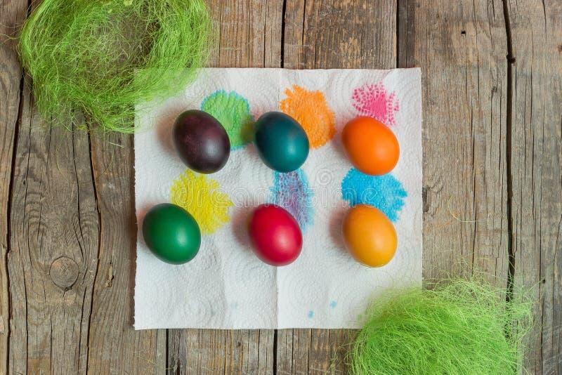 Ostern-Feiertagseier stockfotos