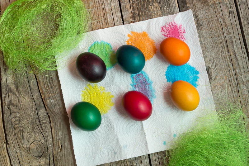Ostern-Feiertagseier lizenzfreie stockfotos