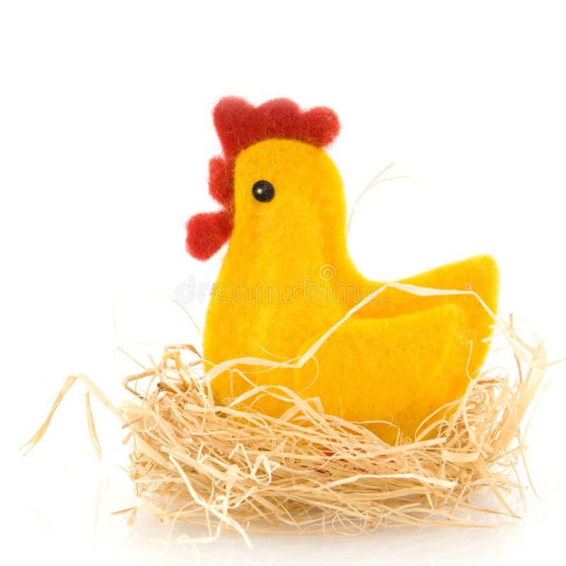 Ostern-Huhn stockfoto