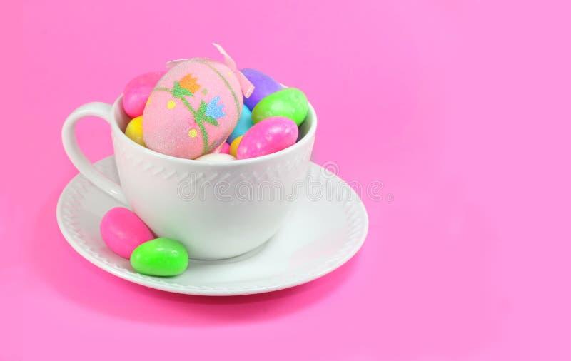 Ostern-Kaffeetasse stockfotografie