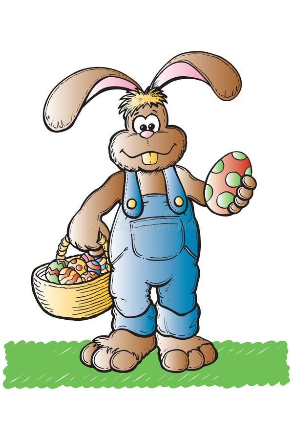 Ostern-Kaninchen lizenzfreie abbildung
