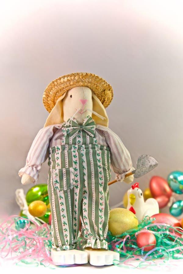 Ostern-Kaninchenlandwirt lizenzfreies stockbild