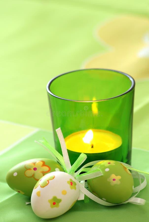 Ostern-Kerze stockfotografie